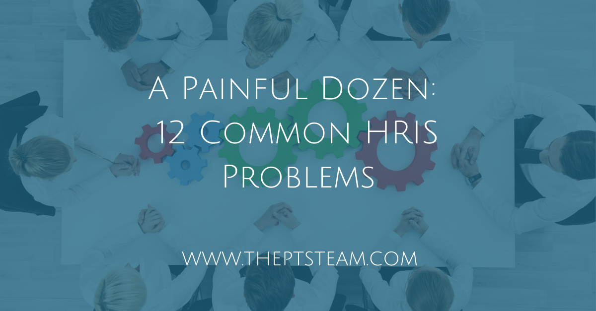 A Painful Dozen: 12 Common HRIS Problems
