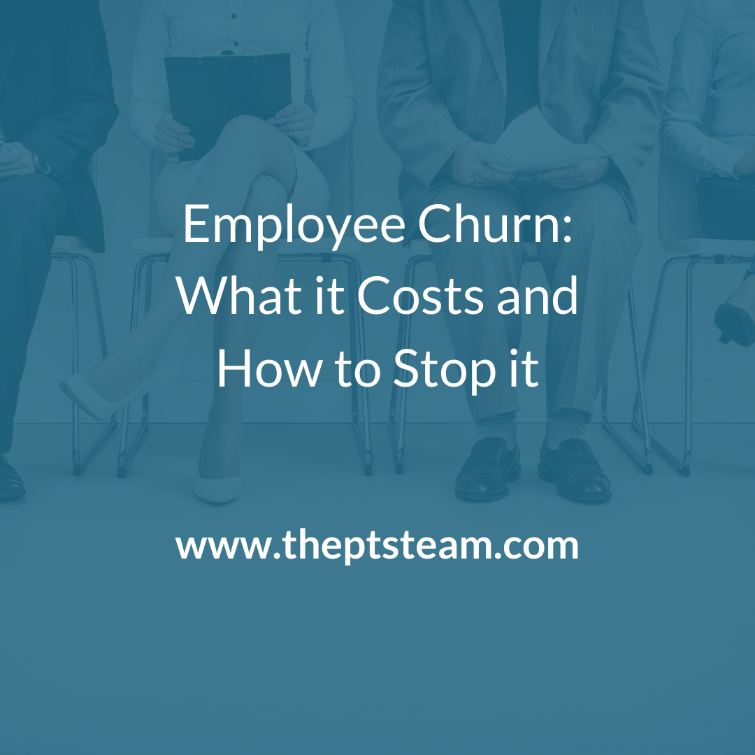 Employee Churn: What it Costs and How to Stop it