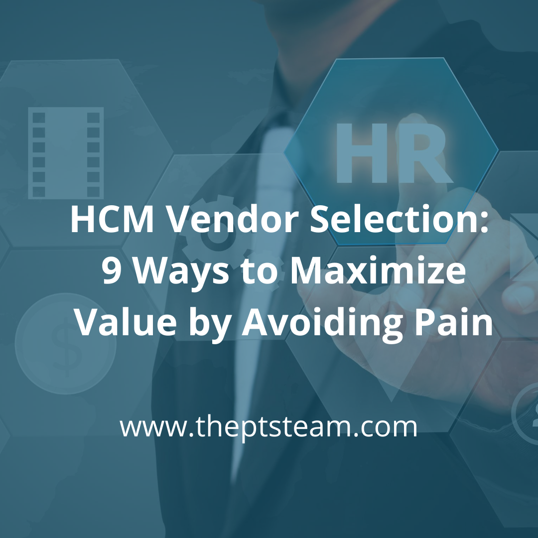 HCM Vendor Selection ROI